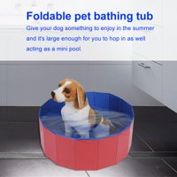 Anauto Foldable Pet Dogs Cats Bathing Tub Portable Swimming Pool Home Indoor Outdoor, Portable Pet Bathing Tub,  Dogs Bathing Tub