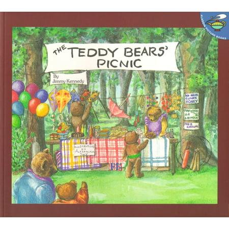 Teddy Bear Design Bookmarks (Teddy Bears' Picnic )