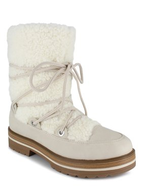 PORTLAND by Portland Boot Company Shearling Lace Up Boot (Women's)