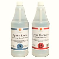 EPOXY RESIN  64 oz Kit. FOR SUPER GLOSS COATING AND TABLETOPS