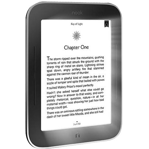 "NOOK 6"" Simple Touch eReader with GlowLight"
