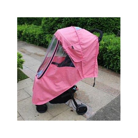 Strollers Accessories Waterproof Raincoat For Stroller Dust Rain Wind Shield Cover Universal Size Transparent Ventilation Cover Baby Pram Accessories Activity & Gear