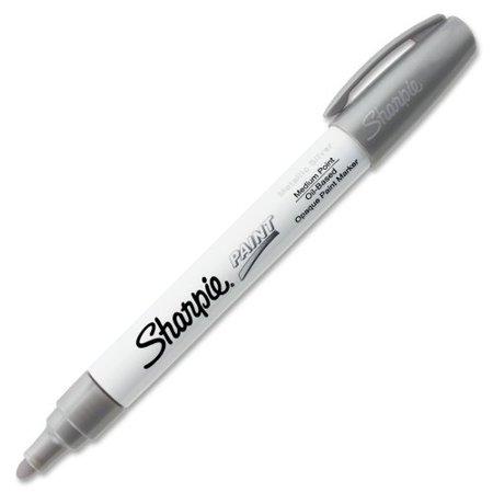 - Sharpie Oil-Based Paint Marker - Medium - Silver