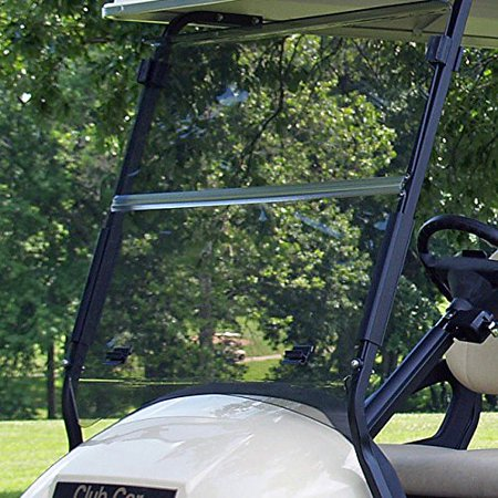 (WINDSHIELD, Fits Club Car Precedent Golf Carts, TINTED)