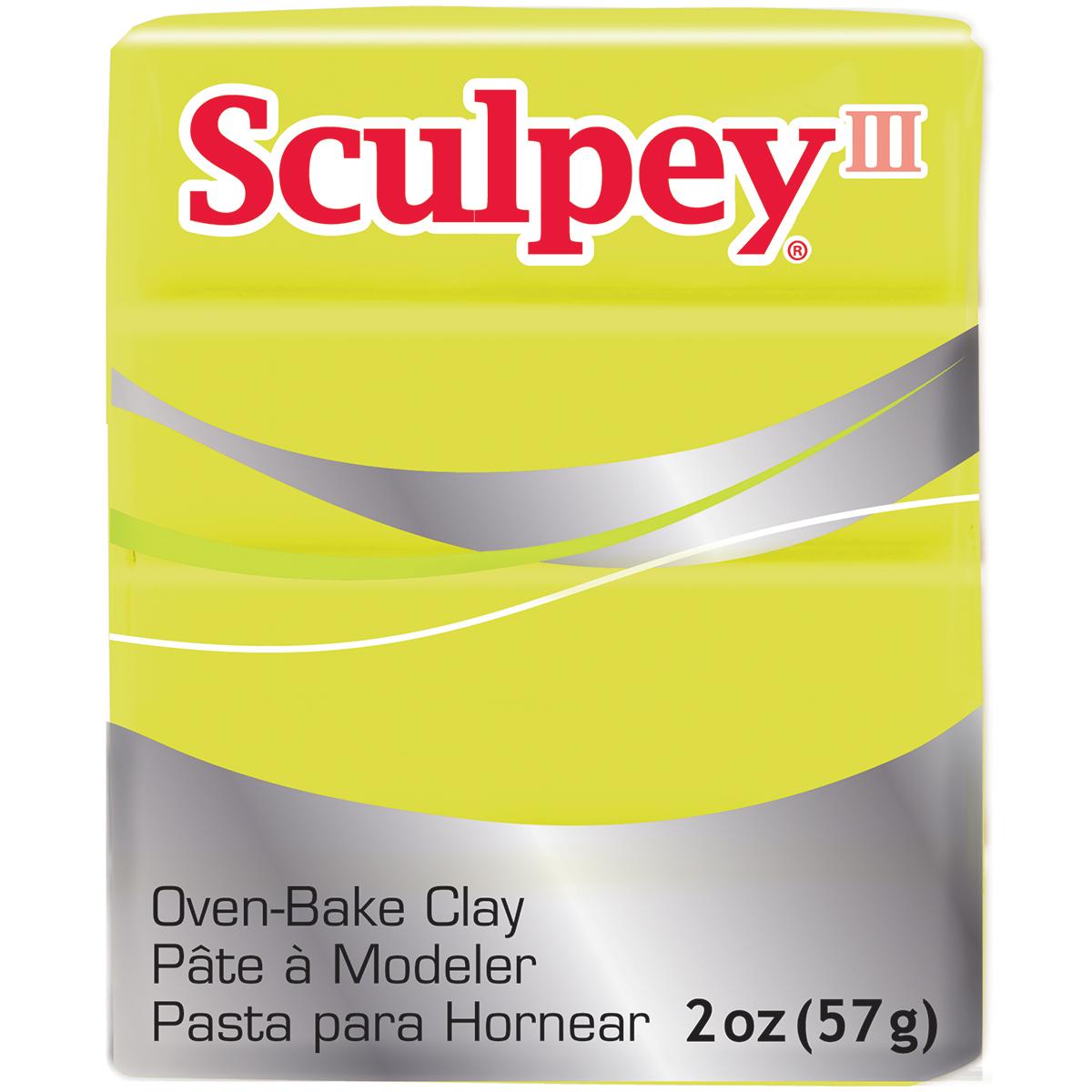 Sculpey Polymer Clay Acid Yellow