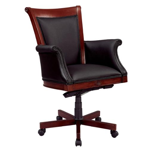 Dmi Office Furniture Executive High Back Chair with Upholstered Arms