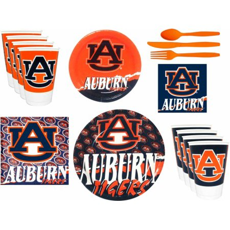 Auburn Tigers Party Supplies Pack #2 (Auburn String Pack)