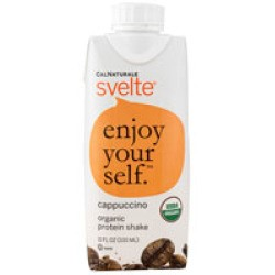 Cal Naturale Svelte Organic Protein Shake Cappuccino 11 fl oz