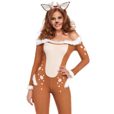 Women's Darling Deer Costume](Whitetail Deer Costume)