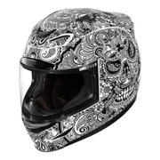 Icon Airmada Chantilly Motorcycle Helmet White Gloss