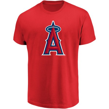 - Men's Majestic Red Los Angeles Angels Top Ranking T-Shirt