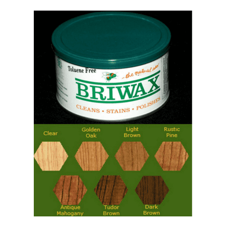 Briwax Toluene Free Furniture Wax 16 Oz   Multiple Colors by Briwax