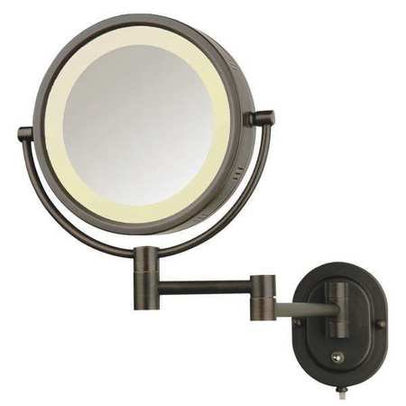 Lighted Makeup Mirror Bronze 5X Hlbzsa895 by see all industries #2