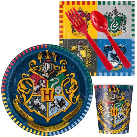Harry Potter Party Standard Tableware Kit (Serves - Harry Potter With Glasses