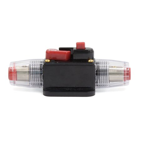 50A Amplifier Fuse Holder Clear Casing for Car Truck - image 1 of 2