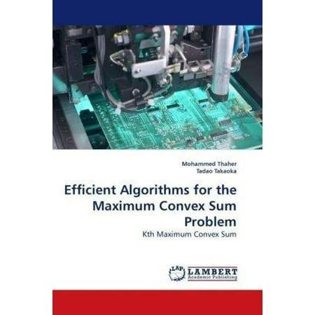 Efficient Algorithms for the Maximum Convex Sum Problem - image 1 of 1