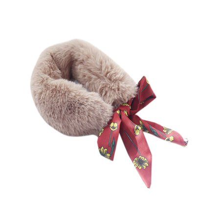 Kids Baby Girls Winter Warm Snood Kids Baby Fleece Wool Scarf Neck Warmer ()