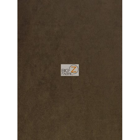 Microfiber Suede Upholstery Fabric / Chocolate / Passion Suede Microsuede