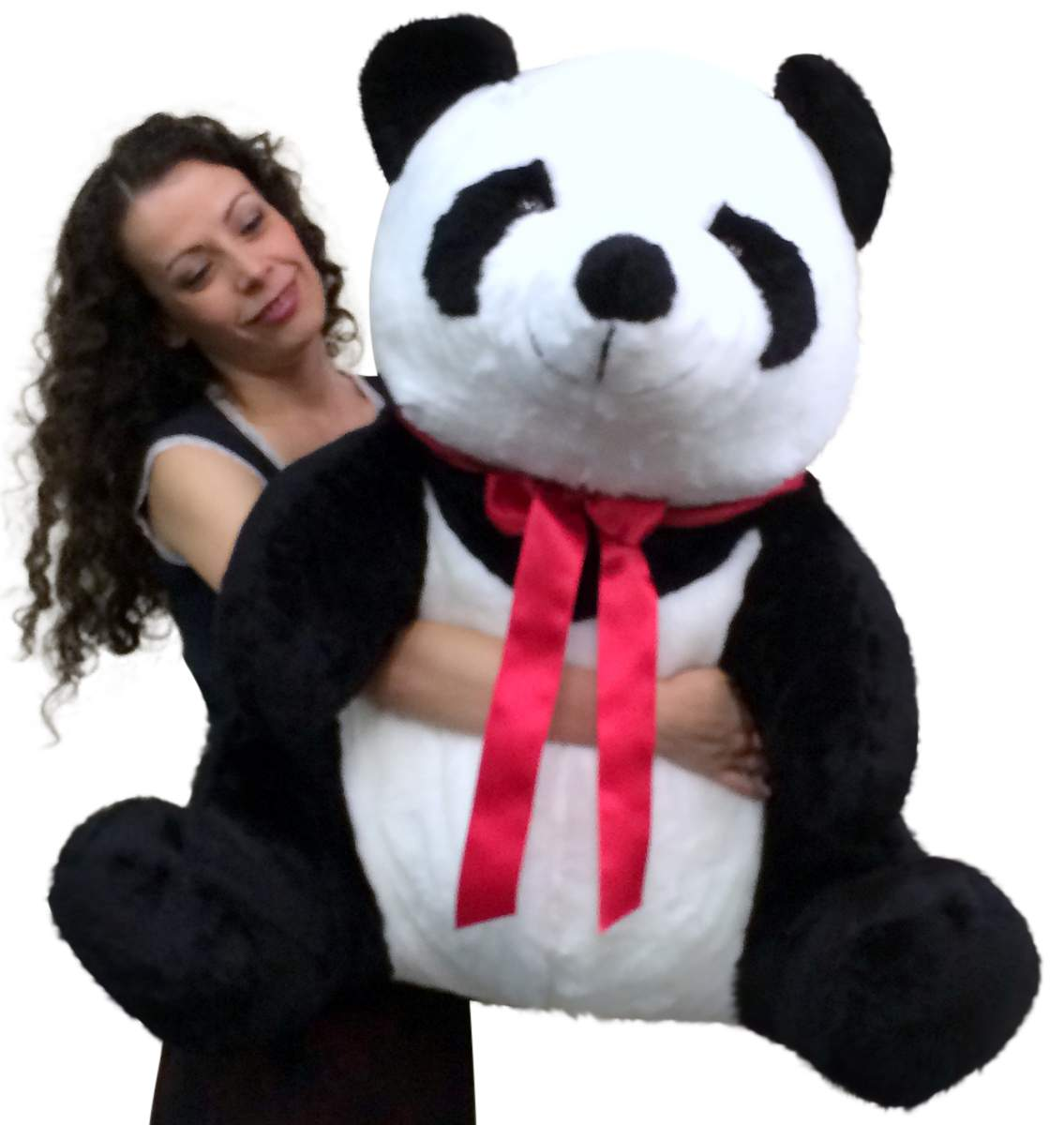 American Made Giant Stuffed Panda 32 Inch Huge Soft Plush Bear Made