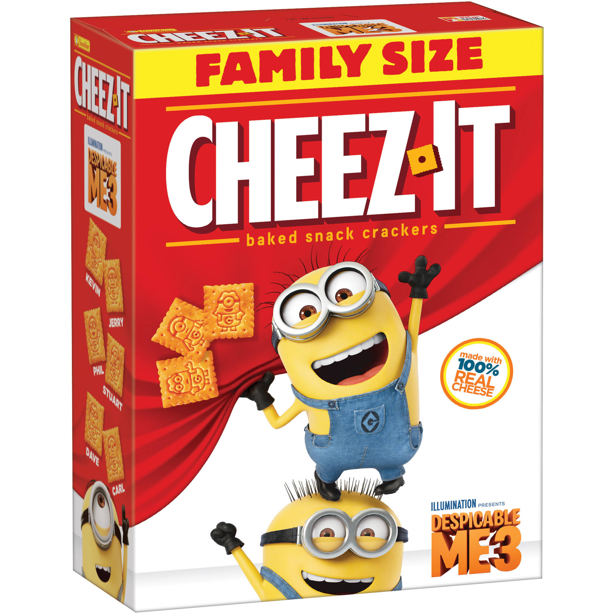 Cheez-It The Amazing Spider-Man 2 Baked Snack Crackers, 21 oz 2410010327