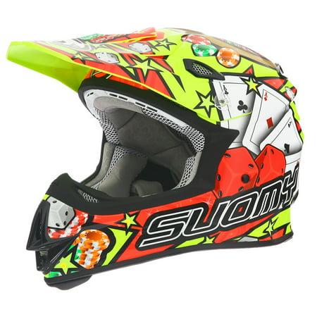 Suomy MX Jump Jackpot Yellow Helmet