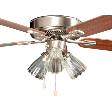 """Concord 52SM5E San Marcos 52"""" 5 Blade Indoor Ceiling Fan with Light Kit, Downrod"""