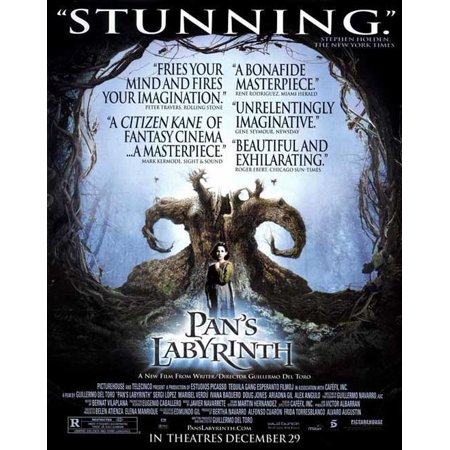 Pan's Labyrinth POSTER Movie G Mini Promo - Labyrinthe Halloween
