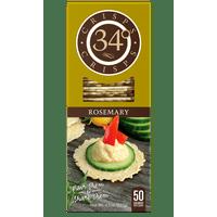 34 Degrees Rosemary Crispbread, 4.5 oz (Pack of 18)