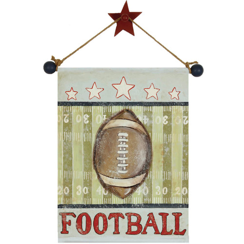Renditions by Reesa Football Canvas Hanging Art