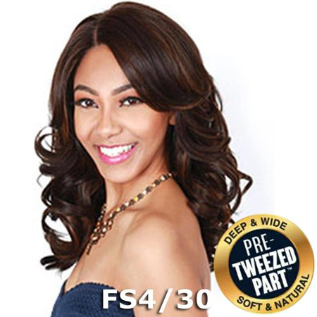 Sis Royal Pre-Tweezed Part Swiss Lace Front Wig - AMRY (SOM RT Burgundy) - Twisted Sister Wig