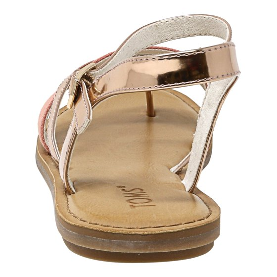 109da86409b4 Toms - Toms Women s Lexie Specchio And Hemp Rose Gold Sandal - 8.5M ...