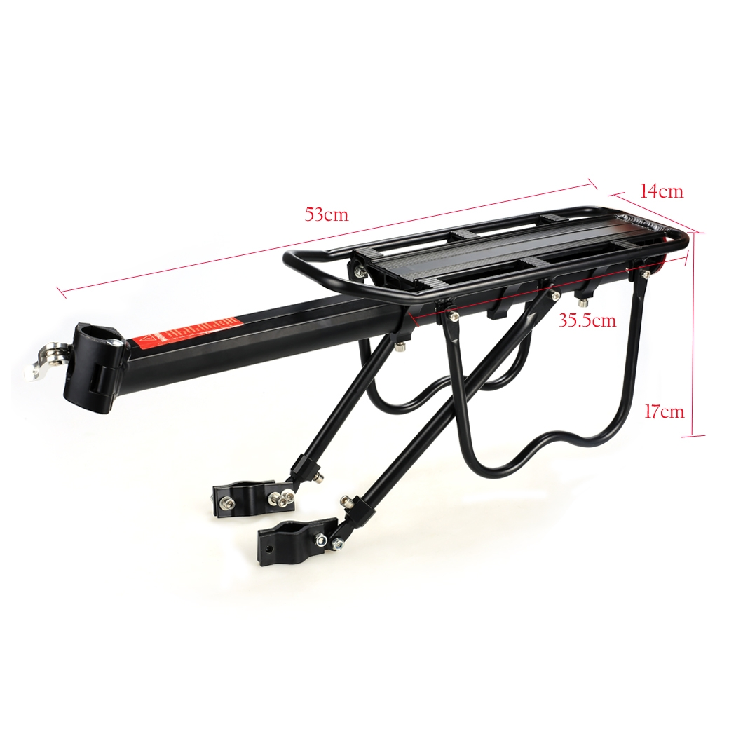 Bike Rear Rack Portable Carry Carrier Holder Seatpost Mount Bicycle Cargo  Rack Fashion Design