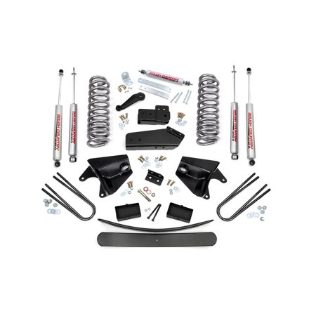 Bronco 4wd Front Lift - Rough Country - 470.20 - 6-inch Suspension Lift Kit w/ Premium N3 Shocks for Ford: 80-96 Bronco 4WD, 80-83 F100 4WD, 80-96 F150 4WD