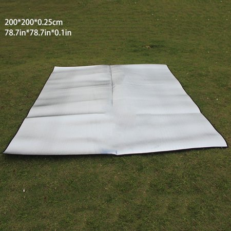 Double Sided Foldable Waterproof Aluminum Foil Mat Outdoor Travel Beach Mat - image 8 of 8