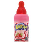Baby Bottle Pop Original Candy Lollipops with Dipping Powder, Assorted Flavors, 1.1 oz