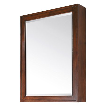 Avanity Madison 28-in. Tobacco Mirror Cabinet