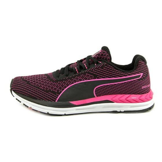 c03b7565001c3b PUMA - Puma Women s Speed 600 S Ignite Black Pink Glow Ankle-High ...