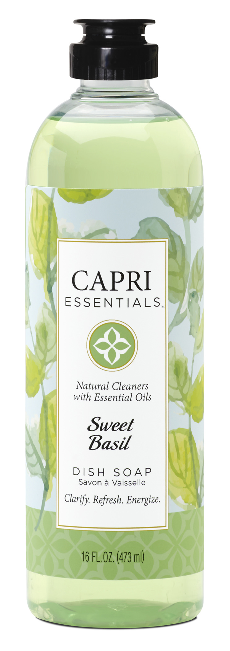 Capri Essentials Dish Soap - Sweet Basil