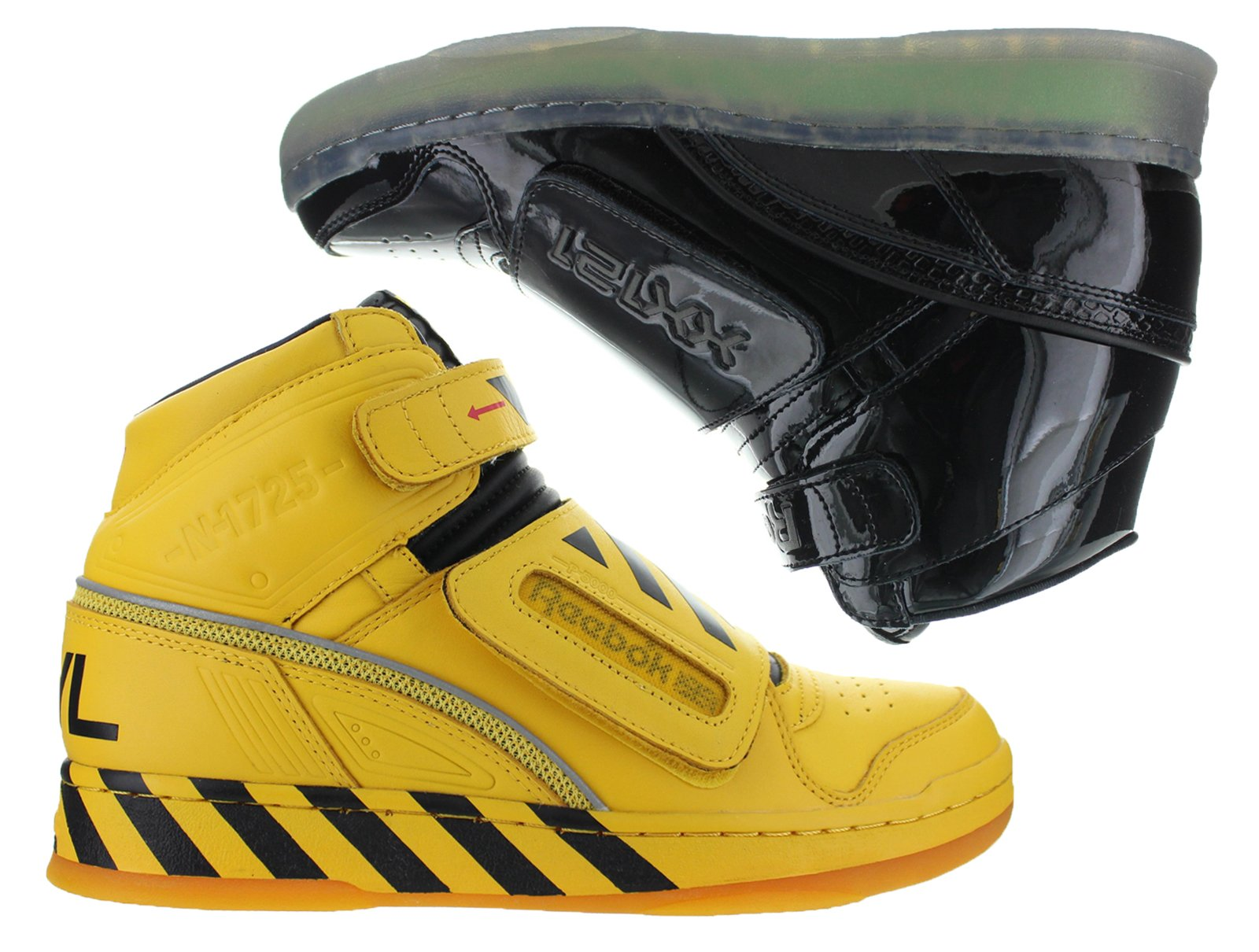 Mens Reebok Alien Stomper Mid PL Final Battle Pack Multi Color Black Y by