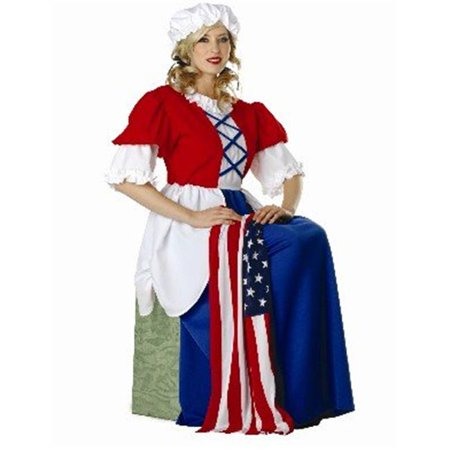 Betsy Ross Adult Costume - Betsy Ross Halloween Costume