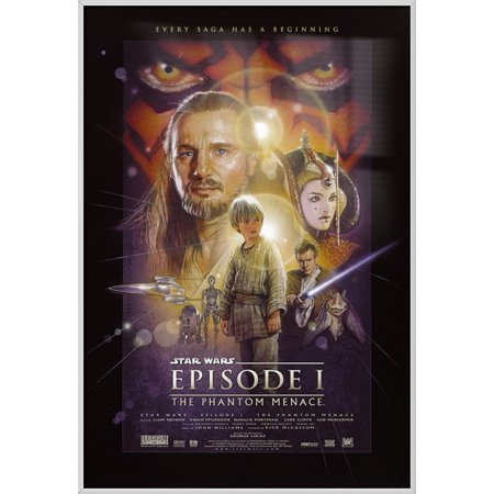 Star Wars: Episode I - The Phantom Menace - Framed Movie Poster / Print (Regular Style) (Size: 24