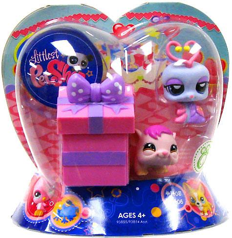 Littlest Pet Shop Valentines Day Lovebug & Hamster Figure 2-Pack [Present]