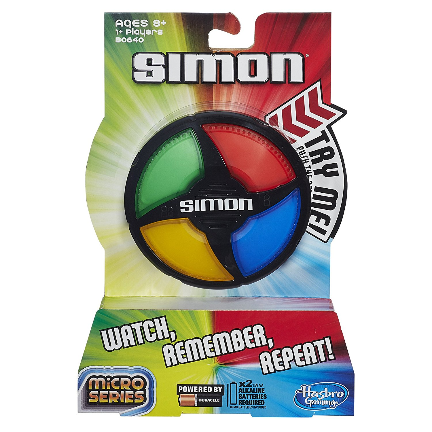 Simon Micro Series Game..., By Hasbro Ship from US by