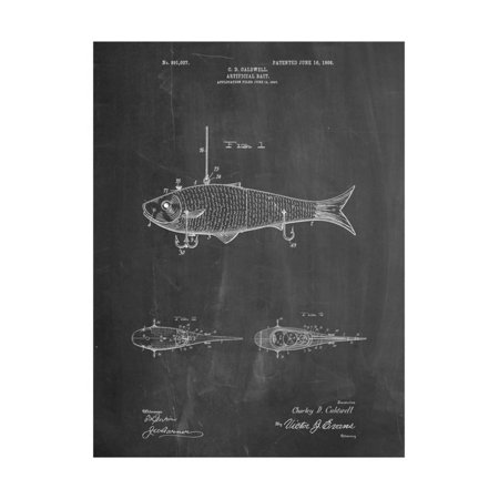 Fishing Artificial Bait Print Wall Art By Cole Borders