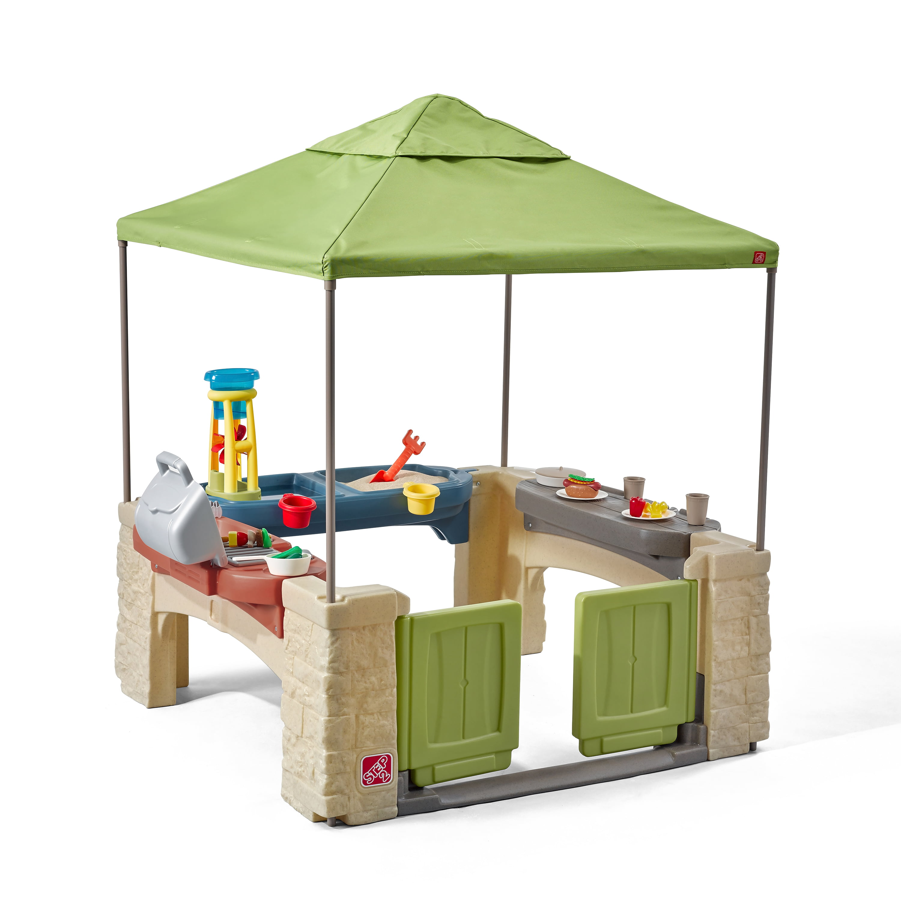 Step2 All Around Playtime Patio with Canopy with 16 Play
