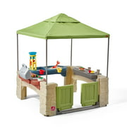Step2 All-Around Playtime Patio with Canopy with 16 Play Accessories