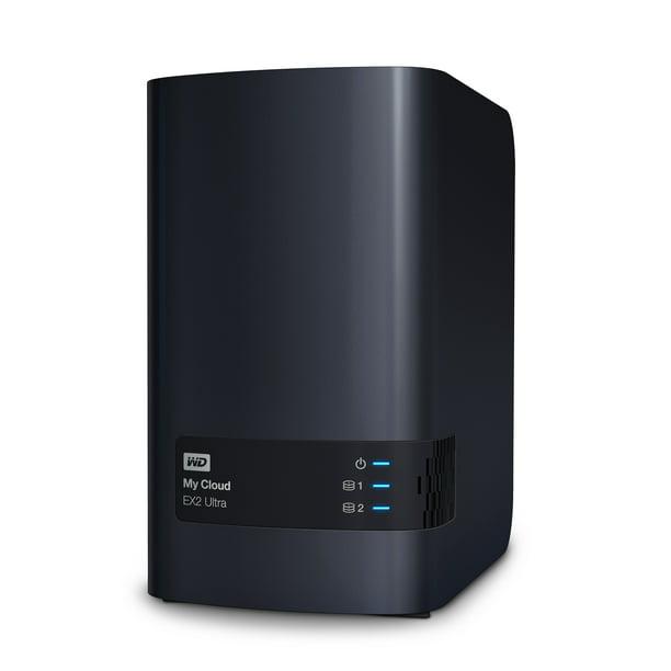 Wd 20tb My Cloud Ex2 Ultra Network Attached Storage Nas Wdbvbz0200jch Nesn Walmart Com Walmart Com