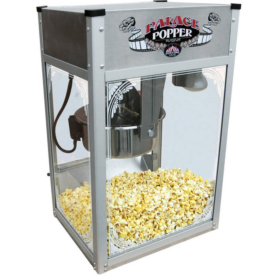 Palace Popper 8 oz Stainless Steel Hot Oil Popcorn Maker Machine