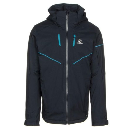 Salomon Stormrace Ski Jacket Mens Night Sky X-Large