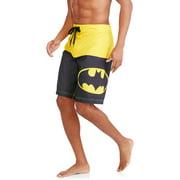 Batman Men's Half Elastic Waist Swim Shorts by